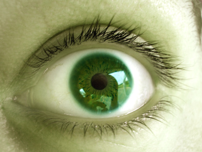 The green eye monster